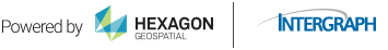 Powered by Hexagon Geospatial | Intergraph