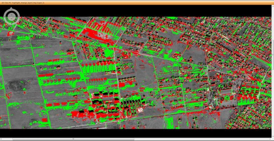 Urban Change Detection